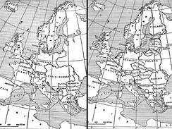 Europe 1914 and 1924