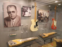 Early Fender electric guitars