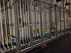 Counterweight fly system at FirstOntario Concert Hall in Hamilton, Ontario