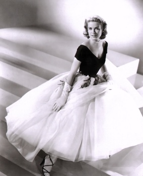 Design for Grace Kelly in Alfred Hitchcock's Rear Window (1954).
