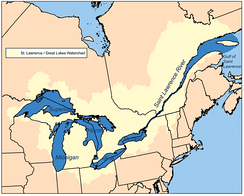 St. Lawrence River watershed