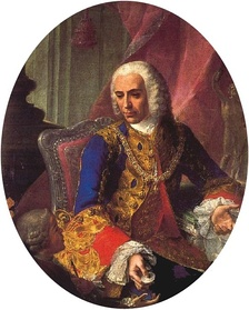 Jose de Carvajal y Láncaster, leader of the pro-British faction in King Ferdinand VI's court.