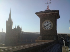 Kings Cross and St Pancras stations. North London's emergence owed much to the arrival of the railway