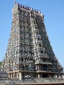 The Meenakshi Temple from Madurai (Tamil Nadu, India)