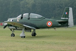 A former French T-28 Fennec