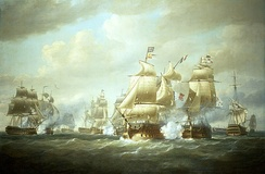 Battle of San Domingo, 6 February 1806