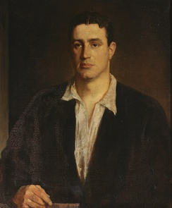 Sir Edward Charles Benthall (1893-1961), KCSI, as a Young Man, 1925, by Glyn Philpot