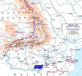 Central Powers counterattack, September–October 1916