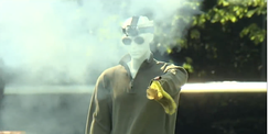 Mannequin targeted in CPSC Fireworks Safety Demonstration 2017