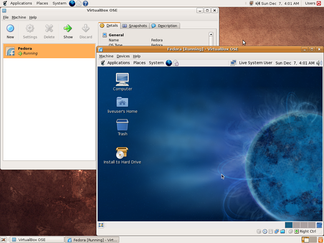 VirtualBox, purchased by Sun