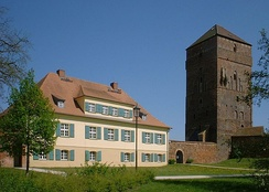 The Palace of the Bishops of Havelberg in Wittstock, Germany.