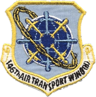 146th Air Transport Wing Legacy Emblem