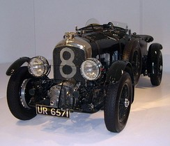 A 1929 supercharged Bentley