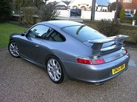 Porsche 996 GT3 (post-facelift) rear.