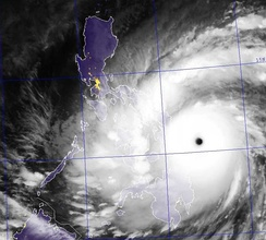 Sabah is located south of the typhoon belt, making it insusceptible to the devastating effects of the typhoons which frequently batter the neighbouring Philippines,[25] such as the Typhoon Haiyan in 2013.[26]