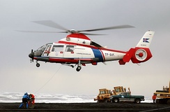 Icelandic Coast Guard Eurocopter AS-365N Dauphin 2 helicopter
