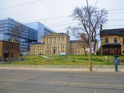 Bridgepoint Active Healthcare is one of several health care institutions in Old Toronto. The institution presently includes the former Don Jail building.
