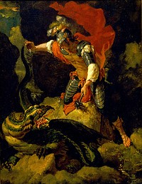 After Salvator Rosa - Jason Poisoning the Dragon.jpg