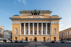 The Alexander theatre, Saint Petersburg