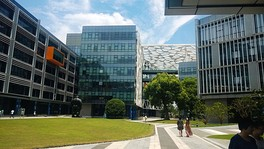 Alibaba Binjiang Campus in Hangzhou, headquarters for Alibaba's B2B service.[42]