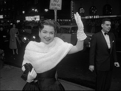 Baxter at the New York premiere of The Ten Commandments (1956)