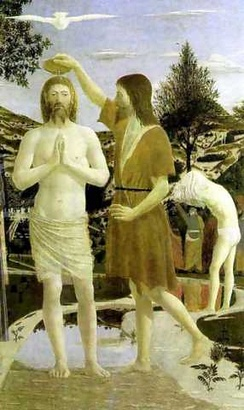 The Baptism of Jesus Christ, by Piero della Francesca, 1449