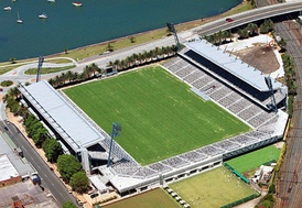 Central Coast Stadium in Gosford, New South Wales, is the current home of the Central Coast Mariners.