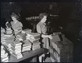 Books for lending library, Mitchell Building, 1943