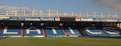 Boundary Park home of Oldham Athletic.