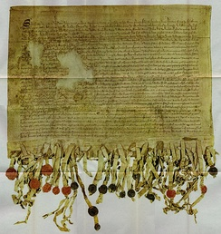 The 'Tyninghame' copy of the Declaration of Arbroath from 1320