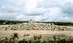 Tumulus at Outeiro de Gregos, Baião, Portugal (5th or 4th millennium BC)