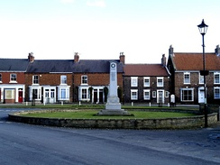 Easingwold's cenotaph