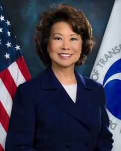 Chao's first Secretary of Transportation portrait