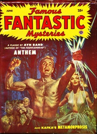 Kafka's The Metamorphosis was even reprinted in the June 1953 issue of the pulp magazine Famous Fantastic Mysteries