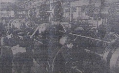 Workers at a factory in the Georgian SSR