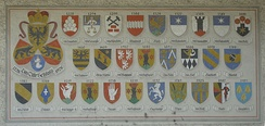 Coats of Arms of the owners of the Old Castle
