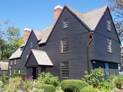 House of the Seven Gables, in Salem, Essex County