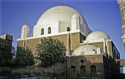 Al Bakiriyya Ottoman Mosque in Sana'a, was built in 1597