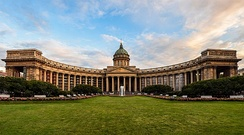 Kazan Cathedral, an example of Neoclassical architecture