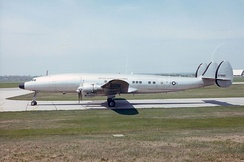 The VC-121 Columbine III used by President Eisenhower