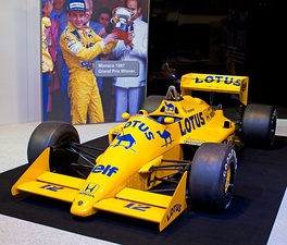 The Lotus 99T raced by Senna in 1987.