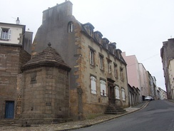 The Maison de la Fontaine in Recouvrance, one of the oldest houses of Brest (end of the 17th century, beginning of the 18th century).