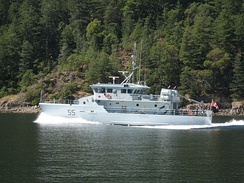 PTC Orca, an Orca-class patrol boat of the Royal Canadian Navy