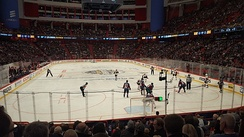 The Avalanche played the Ottawa Senators twice in November 2017, at the Ericsson Globe in Sweden.