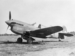 P-40E of the 7th Fighter Squadron – 49th Fighter Group – Australia – March 1942