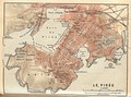 Map of Piraeus, 1908