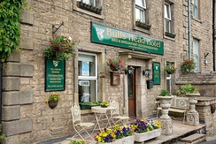 A traditional pub with rooms to let in Hawes, in the Dales of North Yorkshire