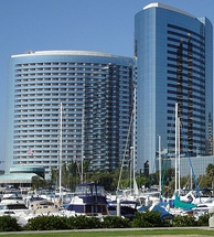 San Diego Marriott Marquis & Marina, one of the highest revenue-generating Marriotts in the United States