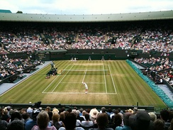 Wimbledon, the oldest Grand Slam tennis tournament, is held in Wimbledon, London every June and July