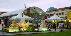 Vesak celebration in Singapore.